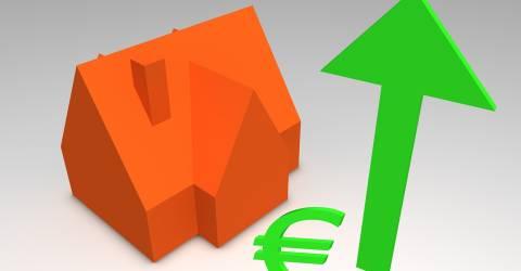Huizen prijzen stijgen